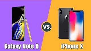 Speedtest Samsung Galaxy Note 9 vs iPhone X: Top 1 hiệu năng sẽ là...?