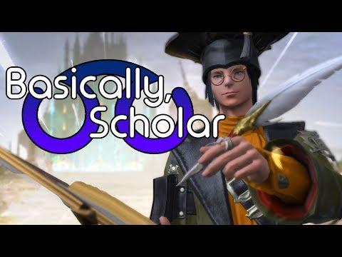 Basically, Scholar | FFXIV (HW/ARR Spoilers)