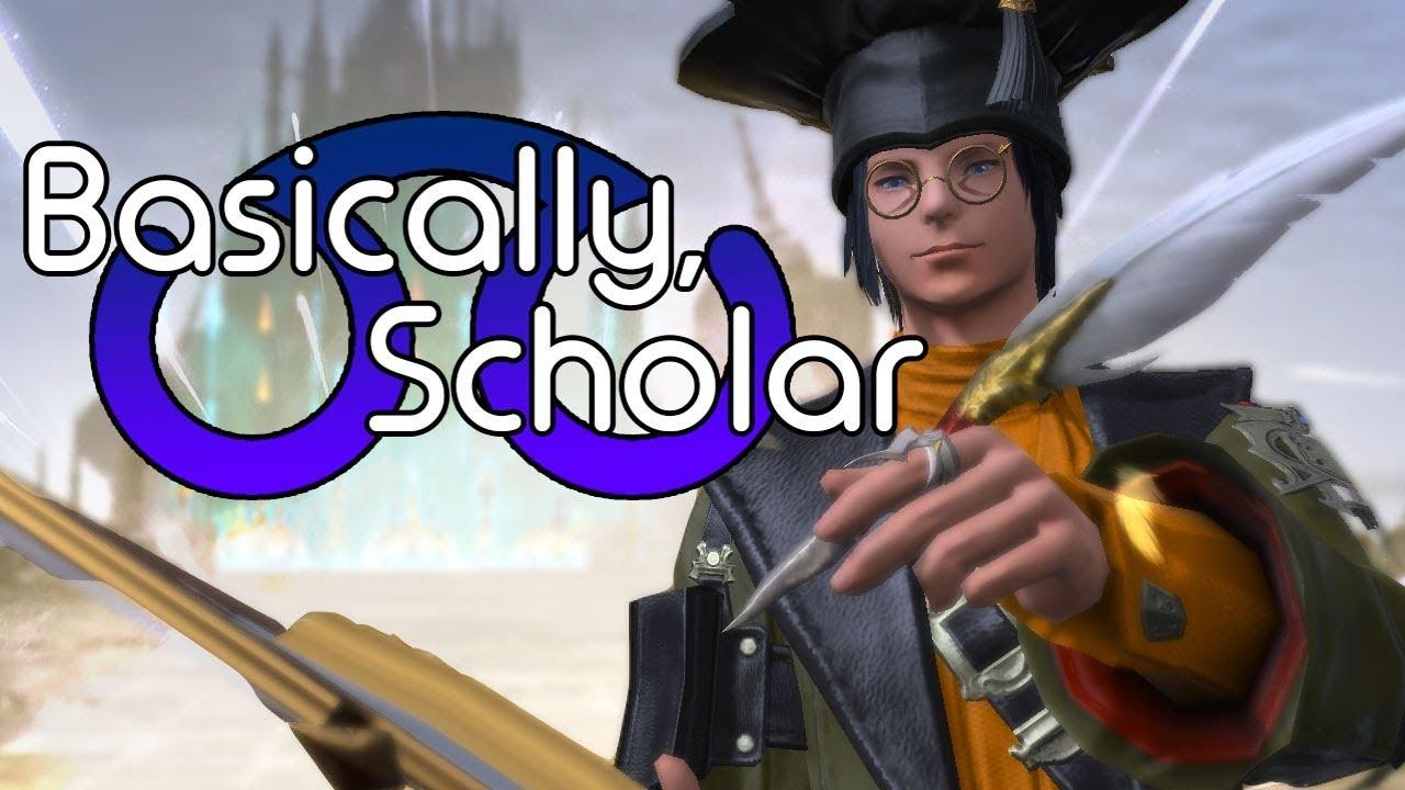 basically scholar ffxiv hwarr spoilers youtube