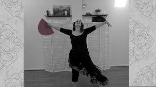 Lindsey McCormick- Besame Mucho- Flamenco Arabe Fan Dance