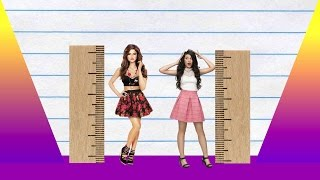 We compare selena gomez and camila cabello in height, visually with data, reveal just how much the difference is between two pop-stars!