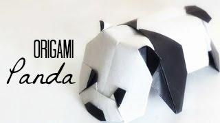 Origami Panda (Baby Panda, by Jacky Chan) Tutorial