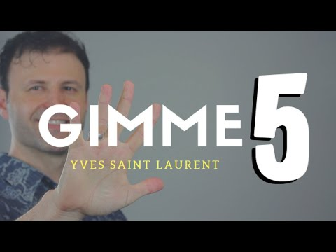 Best Yves Saint Laurent Colognes/Fragrances/Perfumes - GIMME 5 | Max Forti