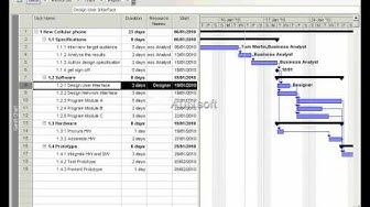 Introduction to Microsoft Project 2003  - Resources
