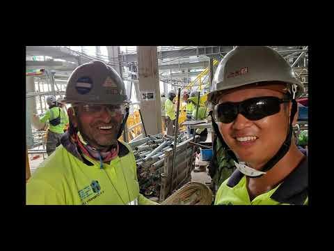 hong kong construction scaffold work