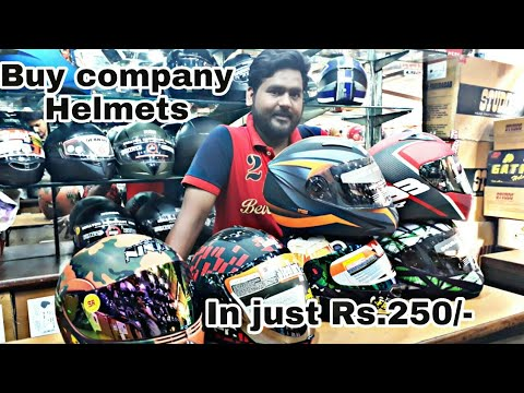 Cheapest Helmets Shop   in Just Rs.250   New Delhi   by Moto beast