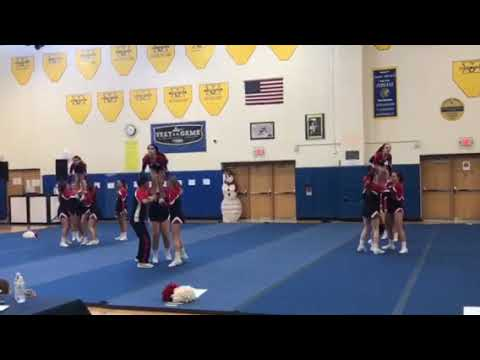 Somers Varsity Cheerleading 1/13/18 @ Mahopac High School