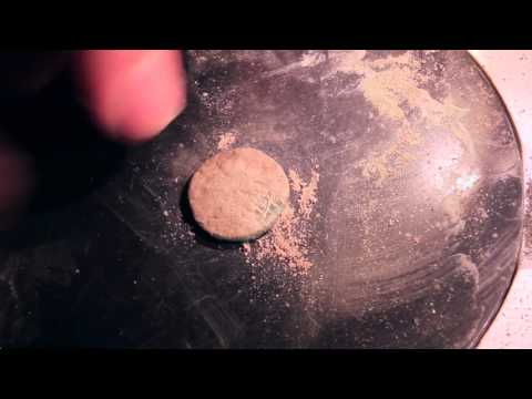 Roman coin cleaning 1