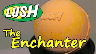 LUSH - The Enchanter Bath Bomb - DEMO - Underwater View - Review UK Kitchen
