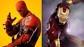 IRON-MAN SKIN *SECRETA* IN FORTNITE!!!