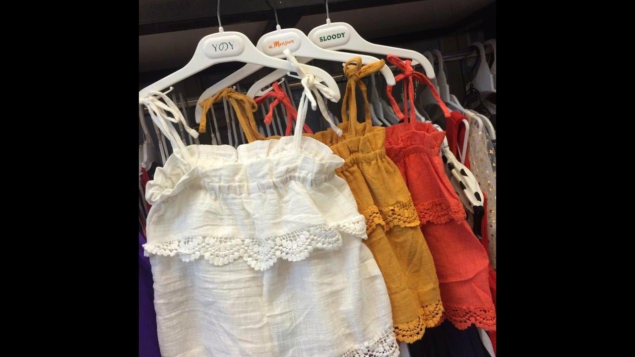 Bán sỉ quần áo trẻ em Thái Lan giá sỉ rẻ nhất tại Sài Gòn - Mẫu mới nhất.