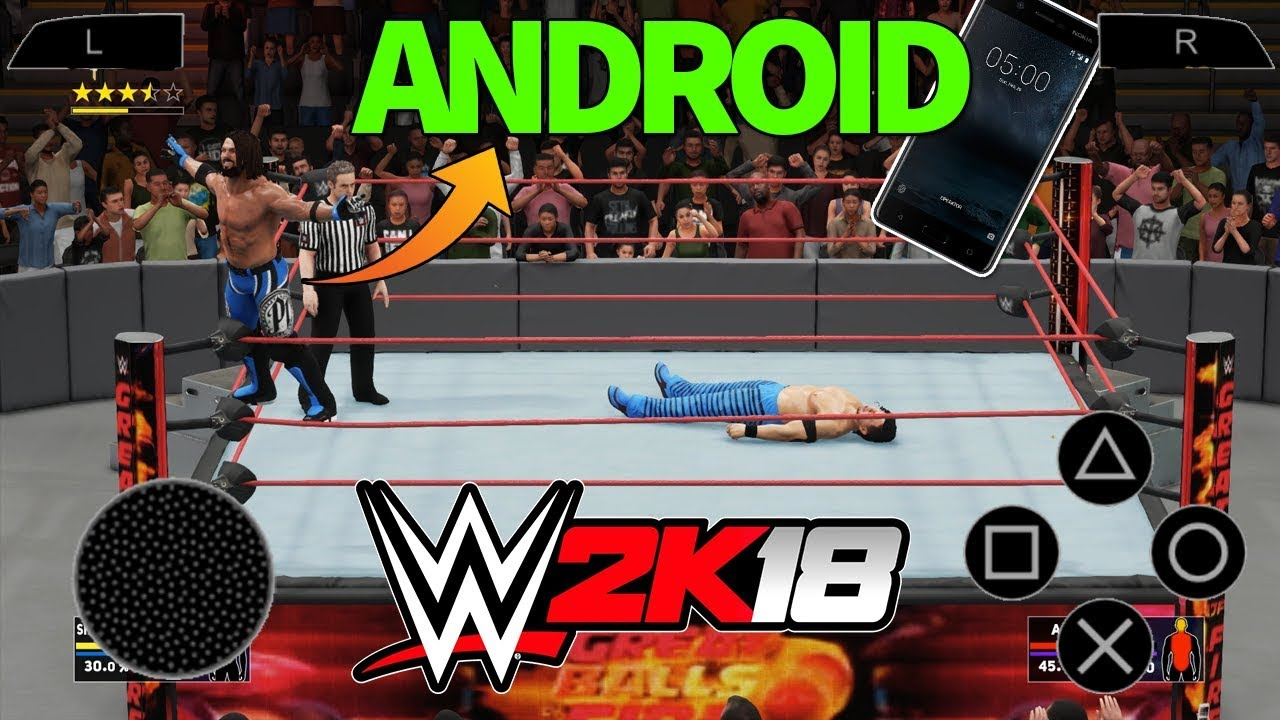 WWE 2K18 Apk + Obb Data Download Reality || HINDI  #Smartphone #Android