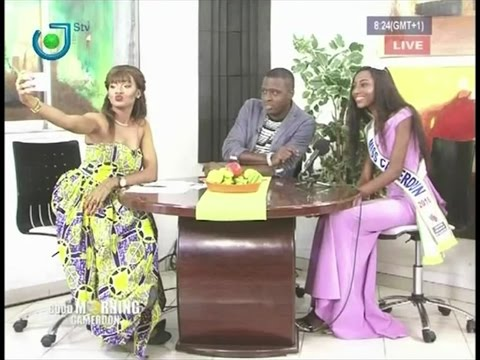 MISS CAMEROUN 2016 (Julie NGUIMFACK) Invitée de GOOD MORNING CAMEROON - Mercredi 07 Septembre 2016