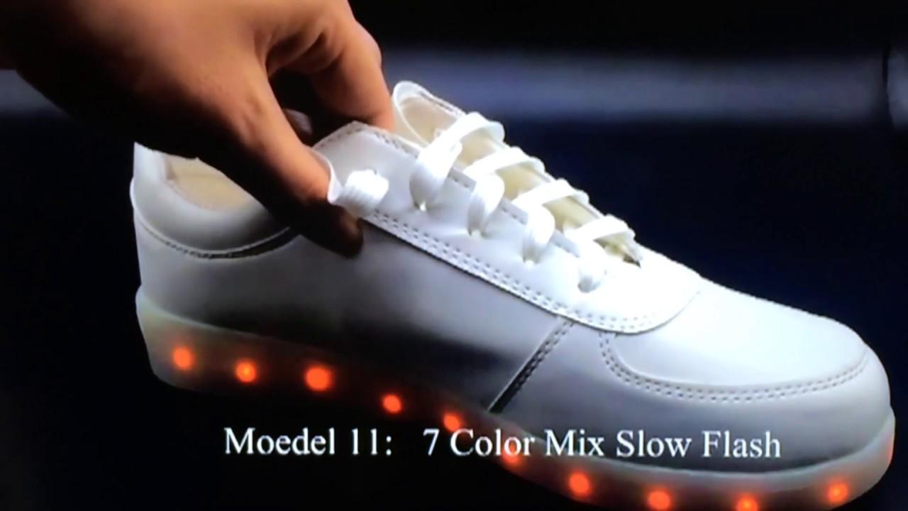 led kengät