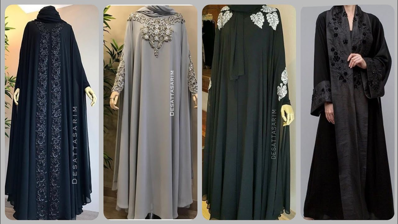 Most Beautiful Fancy Abaya Designs Collection 2020 || Stylish Fancy Hijab  Abaya - Dubai Abaya Design - YouTube