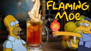 Broke My Toe Making a Flaming Moe | How to Drink