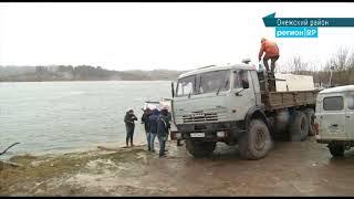В реку Онега в Архангельской области выпустили тысячи особей мальков кумжи
