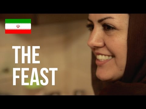 The Feast • Lunchtime with the Omrani Family • Bandar Abbas • IRAN