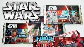 [Карточки STAR WARS] TCG Force Attax (TCG STAR WARS) обзор бустеров и карт