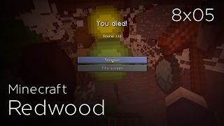 Minecraft Redwood - 8x05 - Arachnophobie