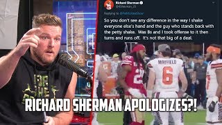 Download Richard Sherman APOLOGIZES To Baker Mayfield For DapGate Controversy Mp3 and Videos