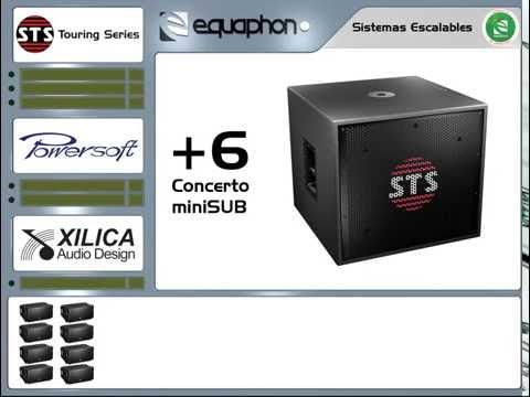 STS Touring Series: V10 Escalabilidad de sistema