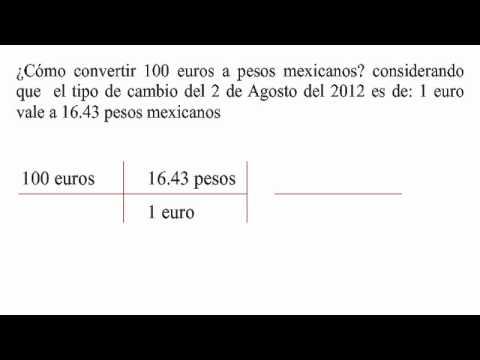 Cómo Convertir Euros A Pesos Mexicanos You
