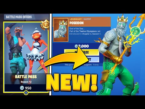 Chapter 2 - Season 2 Battle Pass (Fortnite Custom Skins)