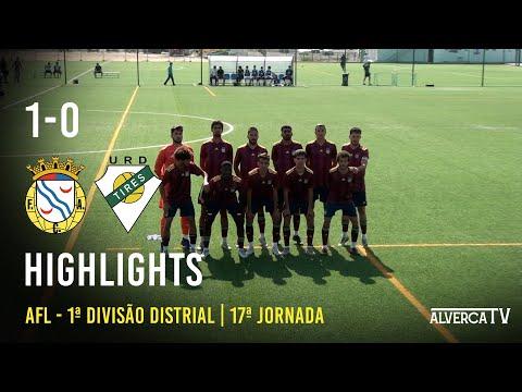 FC Alverca 1 - 0 U. Tires   Highlights