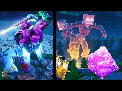 Fortnite - All Live Events And Cinematics Leading Up To Season 10 (Season 3 – Season 10)