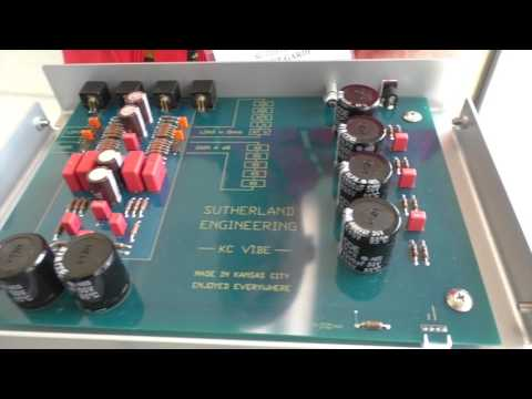 At AXPONA Phono Preamp Designers Rob Robinson and Ron Sutherland