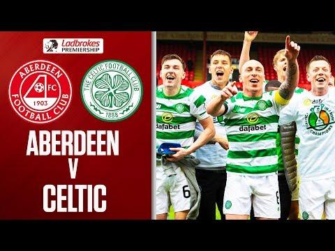 Aberdeen 0-3 Celtic   Celtic Win 8th Successive Title!   Ladbrokes Premiership