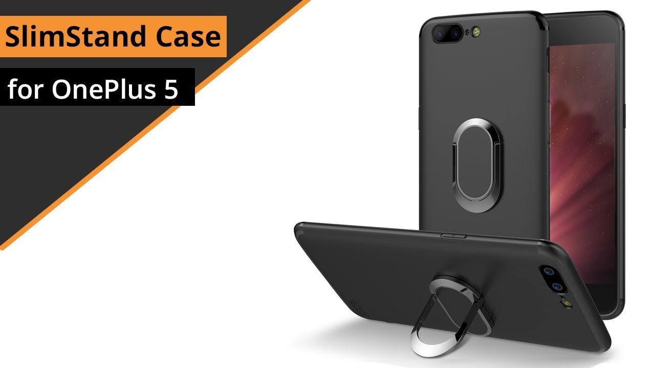 best sneakers ed116 613b7 Orzly Slimstand Case for OnePlus 5: Quick look & Review