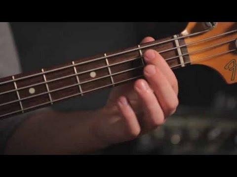 How To Play An A Sharp B Flat Bass Guitar Youtube