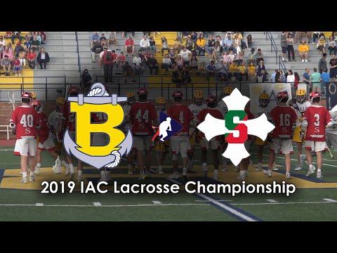 2019 IAC LACROSSE CHAMPIONSHIP: BULLIS SCHOOL VS ST STEPHENS & ST AGNES (GAME HIGHLIGHTS)