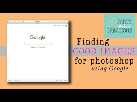 How To: Using Images from Google in Photoshop