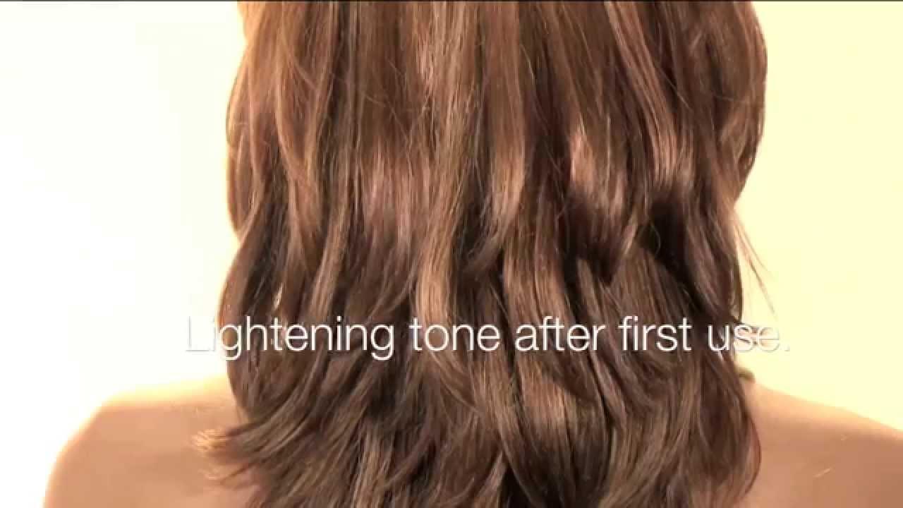 Go Blonde With Inteas Chamomile Hair Lightening Spray Youtube