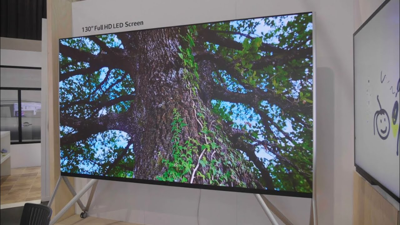 LG 130 Inch Full HD LED Commercial Display