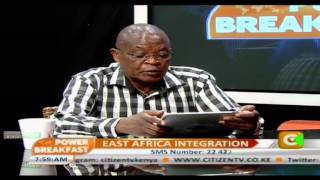 Power Breakfast Interview The East Africa Integration