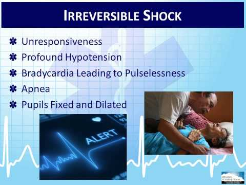 EMT 4-1:  Overview of Shock