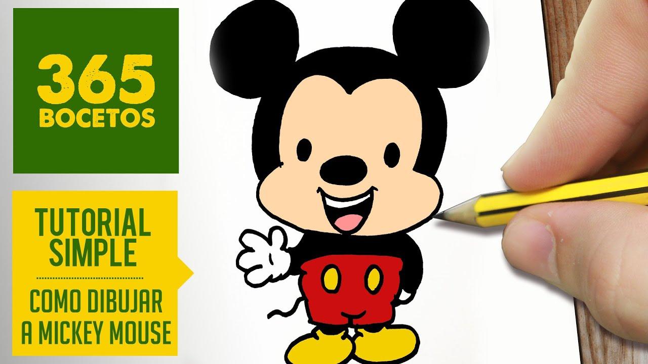Juegos De Pintar De Miki Maus. Cheap Como Dibujar A Mickey
