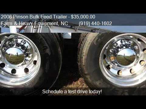 2006 Pinson Bulk Feed Trailer for sale in Farm and Heavy Eq