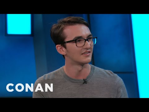 Isaac Hempstead Wright On Bran's Bad Luck  - CONAN on TBS