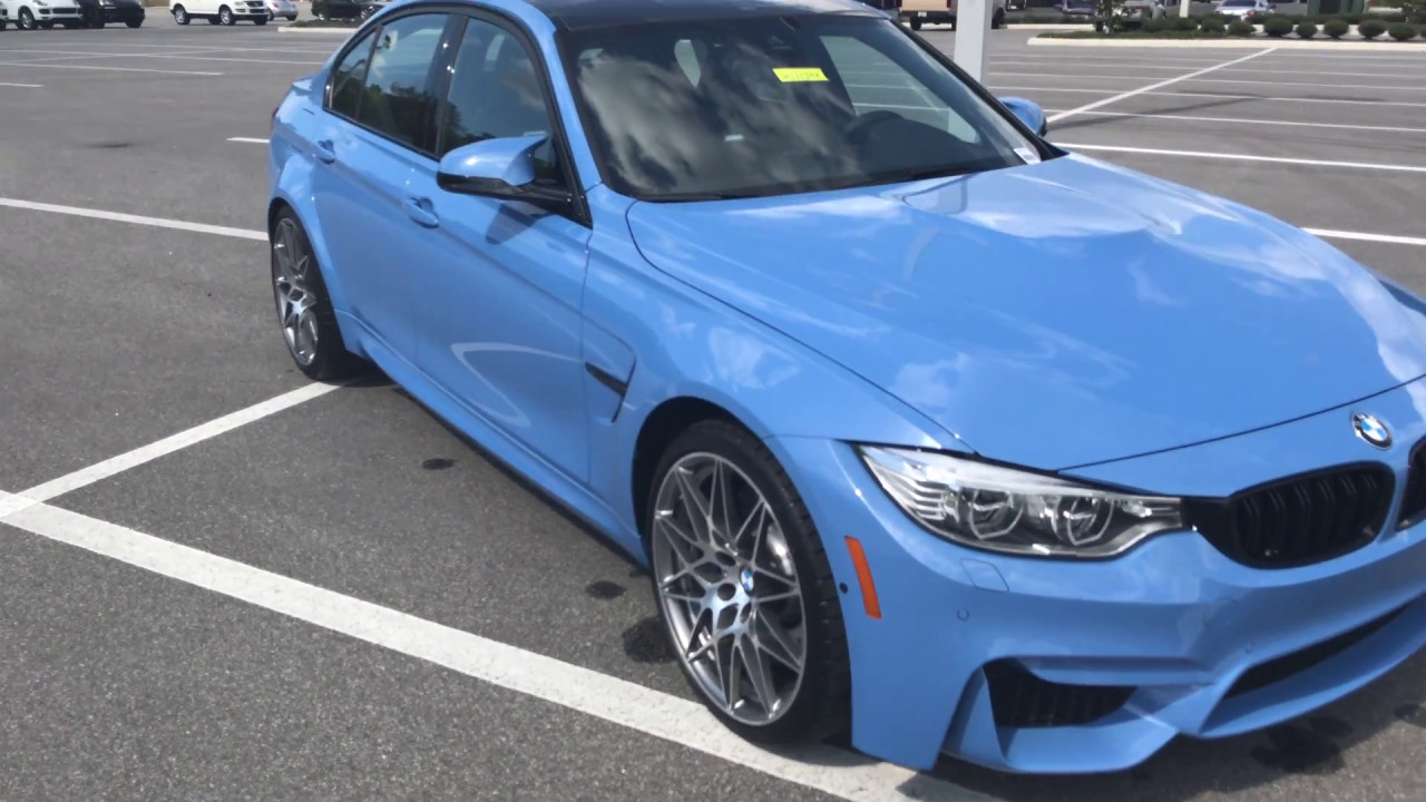 2017 bmw m3 blue bmw review bmw of ocala 20in m. Black Bedroom Furniture Sets. Home Design Ideas
