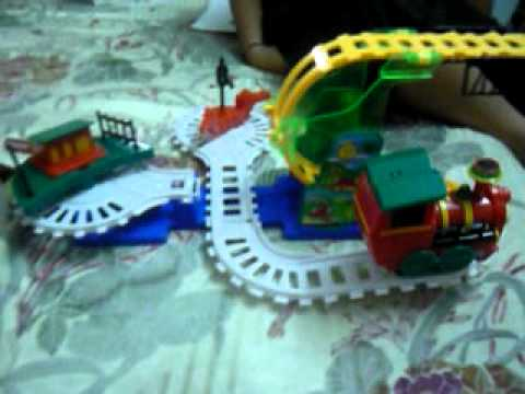 Toy Crazy Steam Train Youtube