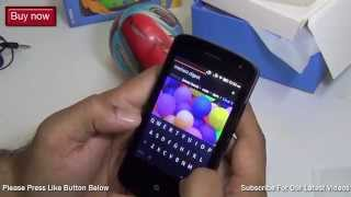 Spice Fire One Unboxing & Review With Camera Test, Gaming, Video & Music Test- MI FX1 Firefox Phone