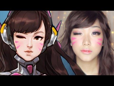 TRANSFORMATION: Overwatch D.va Makeup & LENS GIVEAWAY