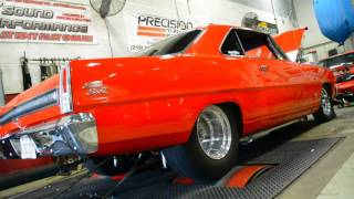 Jay Biondo Wheel Standing Chevy II Nova Dyno Tuned @ Sound Performance