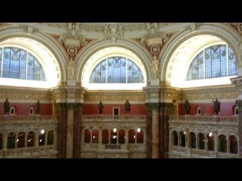 Library of Congress, Washington DC tour