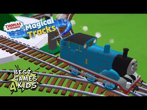 Thomas & Friends: Magical Tracks – Kids Train Set | The BEGIN – Best Game 4 Kids By Budge Studios